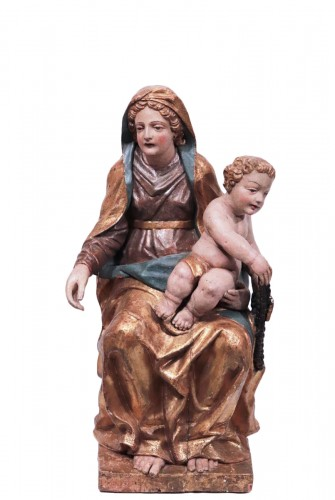 Virgin And Child, Venice 18th century