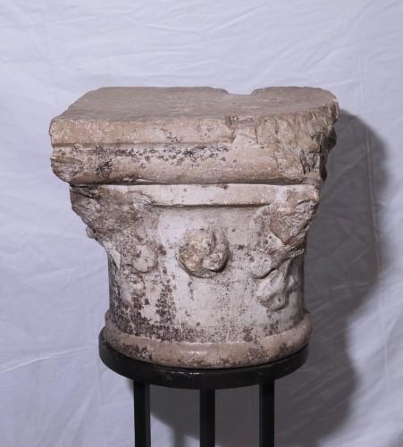 Sculpture  - Stone Capital, Venice, 15th Century