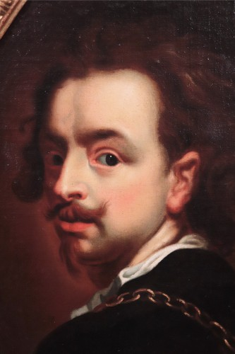 Portrait - Flemish School 17th century -