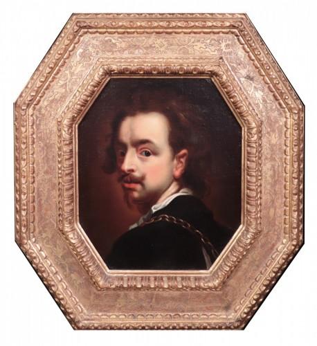 Louis XIII - Portrait - Flemish School 17th century