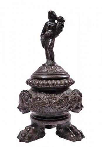 Bronze inkwell, Venice 16th century