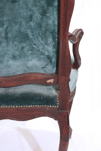 18th century - Pair of armchairs, France, Louis XV