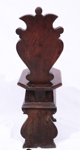 Seating  - Walnut Stool, Tuscany, 16th century