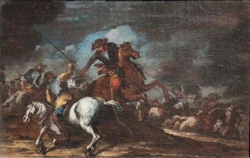 Paintings & Drawings  - Giuseppe Zais (1709-1774) - Battle