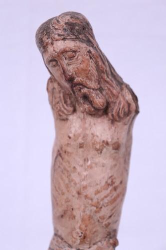 Sculpture  -  Polychrome wooden Christ, Umbria, 15th century