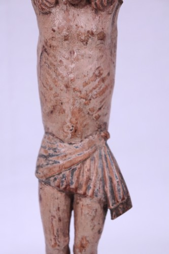 11th to 15th century -  Polychrome wooden Christ, Umbria, 15th century