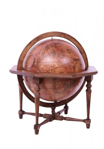 Terrestrial globe, Italy 1845