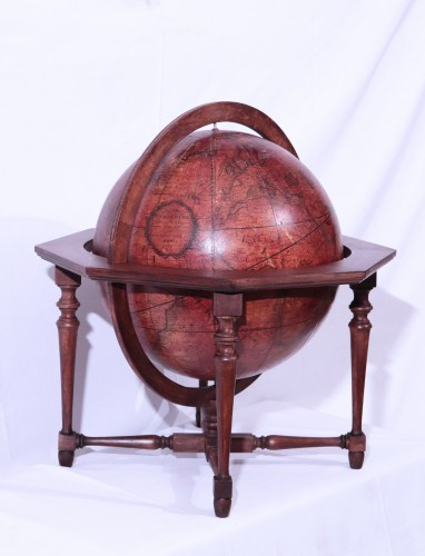 Curiosities  - Terrestrial globe, Italy 1845