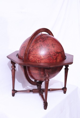 Terrestrial globe, Italy 1845 -