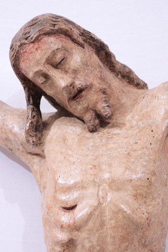 Polychromed wooden Christ, Tuscany, 16th century -