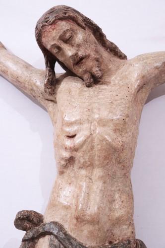 Polychromed wooden Christ, Tuscany, 16th century - Renaissance