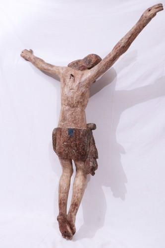 Renaissance - Polychromed wooden Christ, Tuscany, 16th century