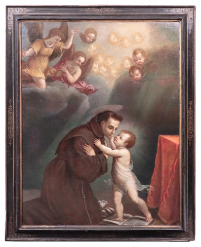 Vincenzo Spisanelli (1595-1662) - Saint Anthony of Padua