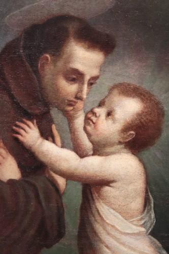 Vincenzo Spisanelli (1595-1662) - Saint Anthony of Padua  -