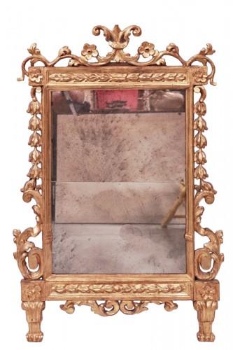 Gilded Mirror, Tuscany, 18th century