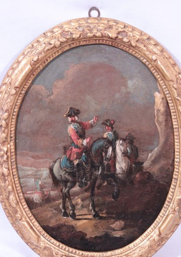 18th century - Giuseppe Zais (1709-1784) - Knights and Landscape