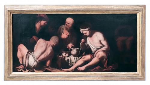 Antonio Carneo (1637-1692) - The Prisoners' Meal