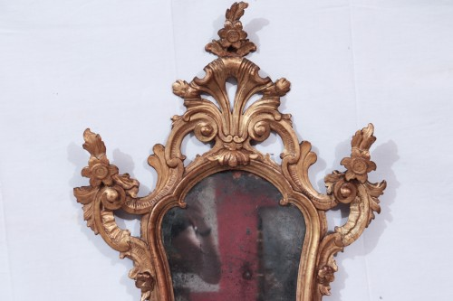 Mirrors, Trumeau  - Pair Of Mirrors, Lombardy, 18th Century