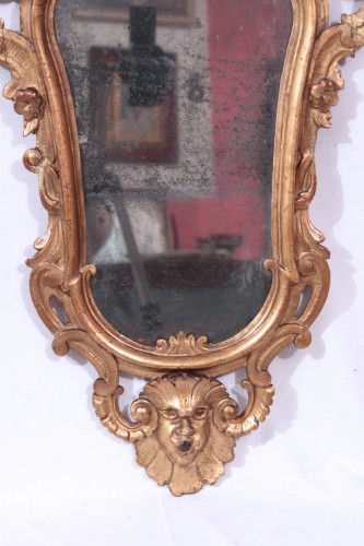 Pair Of Mirrors, Lombardy, 18th Century -