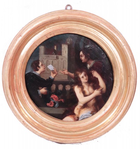 Paintings & Drawings  - Pietro Della Vecchia (Venice 1603 - 1678) - Pair Of Paintings