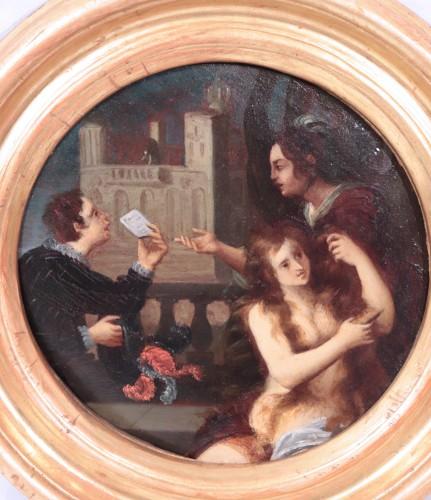 Pietro Della Vecchia (Venice 1603 - 1678) - Pair Of Paintings -