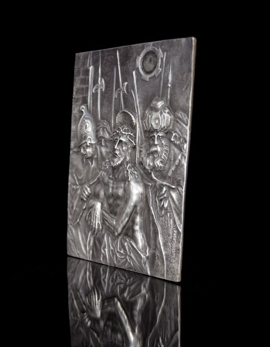 Silver relief depicting the Presentation of Christ by Christoph Lencker -