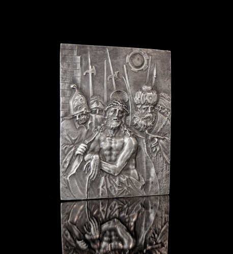 17th century - Silver relief depicting the Presentation of Christ by Christoph Lencker