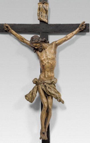 Antiquités - 18th cent. Austrian crucifix, workshop of Johann Franz Schwanthaler