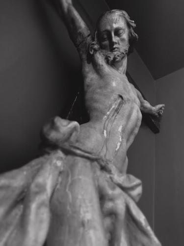 Antiquités - An impressive mid-18th century Crucifix by Johann Joseph Christian
