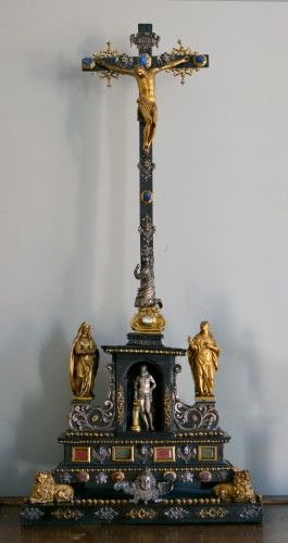 17th cent. Roman altar cross from the estate of a Belgian princess - Religious Antiques Style Renaissance