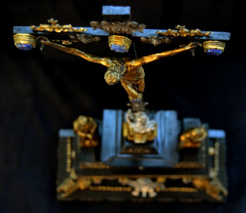 17th cent. Roman altar cross from the estate of a Belgian princess - Renaissance