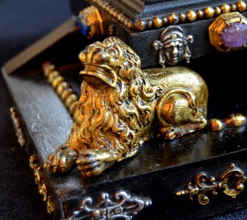 Antiquités - 17th cent. Roman altar cross from the estate of a Belgian princess