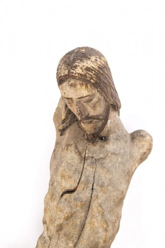 Renaissance - A large Colonial Spanish-Portuguese wood corpus of Christ