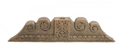 A large wooden Moorish Architectural Element