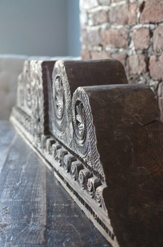 A large wooden Moorish Architectural Element - Architectural & Garden Style Renaissance