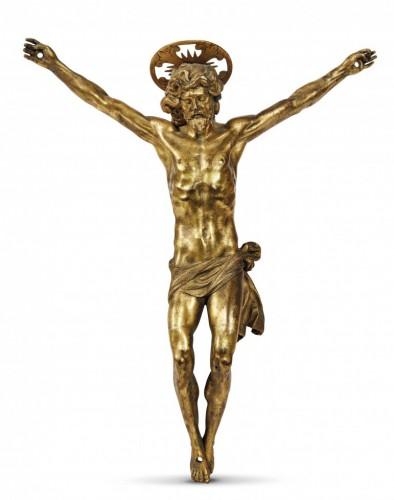 An important Italian gilt bronze corpus, circa 1600