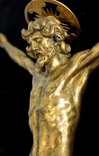 Sculpture  - An important Italian gilt bronze corpus, circa 1600