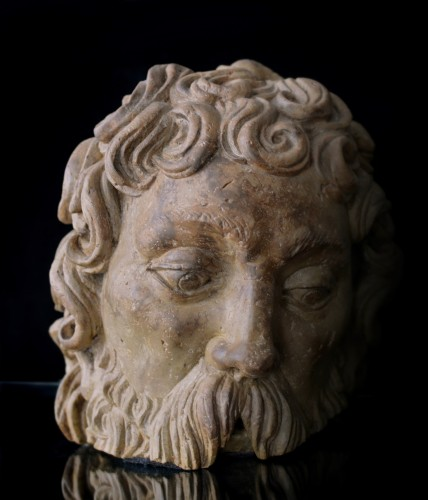 Fragmentary Stone Bust from the school of Adam Kraft, ca. 1500-20 -