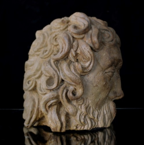 Fragmentary Stone Bust from the school of Adam Kraft, ca. 1500-20 - Renaissance