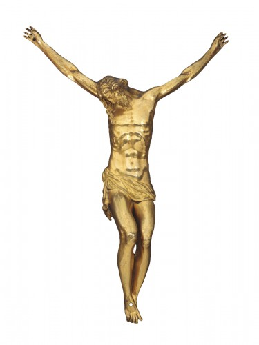 A gilt bronze crucifix by Guglielmo della Porta and workshop, 16th cent.