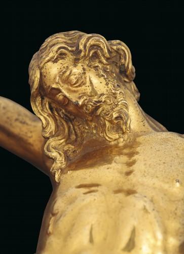 A gilt bronze crucifix by Guglielmo della Porta and workshop, 16th cent. - Sculpture Style Renaissance