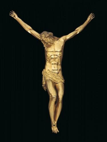 Sculpture  - A gilt bronze crucifix by Guglielmo della Porta and workshop, 16th cent.