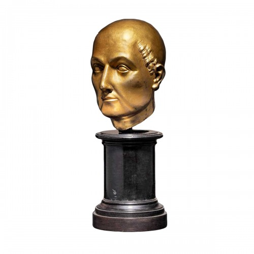16th cent. Florentine gilt bronze Bust, possibly by Baccio Bandinelli
