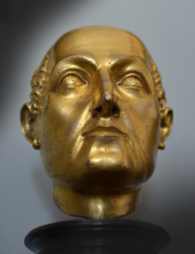 16th cent. Florentine gilt bronze Bust, possibly by Baccio Bandinelli -