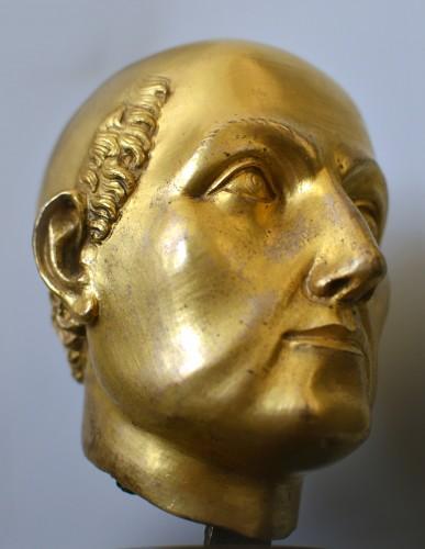 16th cent. Florentine gilt bronze Bust, possibly by Baccio Bandinelli - Renaissance