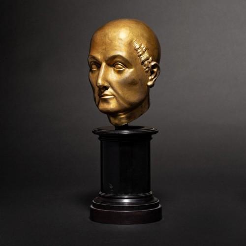 Renaissance - 16th cent. Florentine gilt bronze Bust, possibly by Baccio Bandinelli