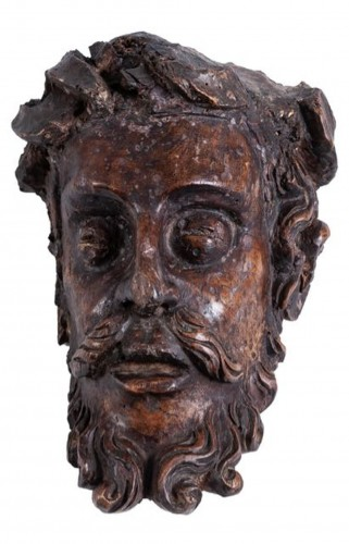 A late 15th century Head of Christ