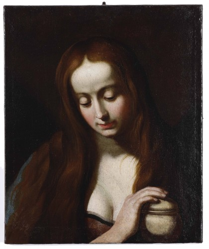 Painting of Mary Magdalene, 17th century, attributed to Giovanni Ricca