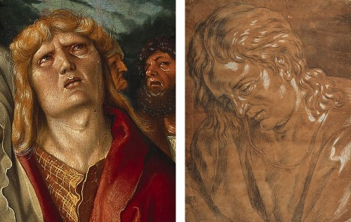 <= 16th century - St John in Mourning - Circle of Hans Baldung Grien