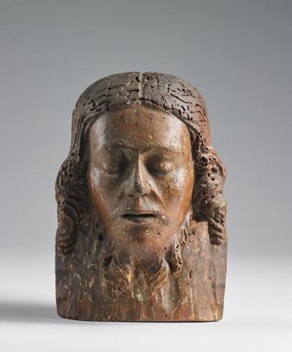 15th century Florentine Head of Christ - Religious Antiques Style Renaissance